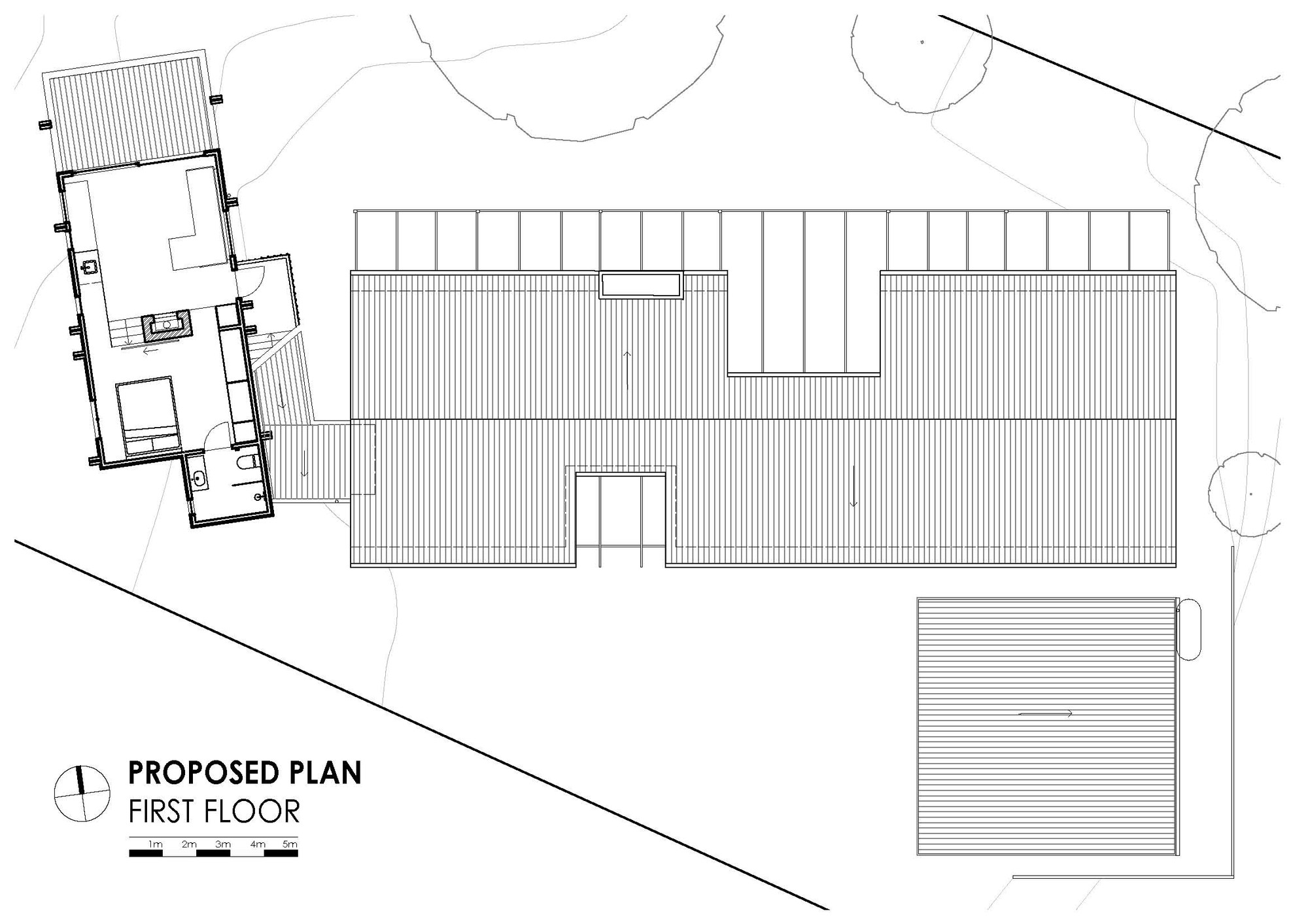 first floor plan house clare cousins archdaily 11669
