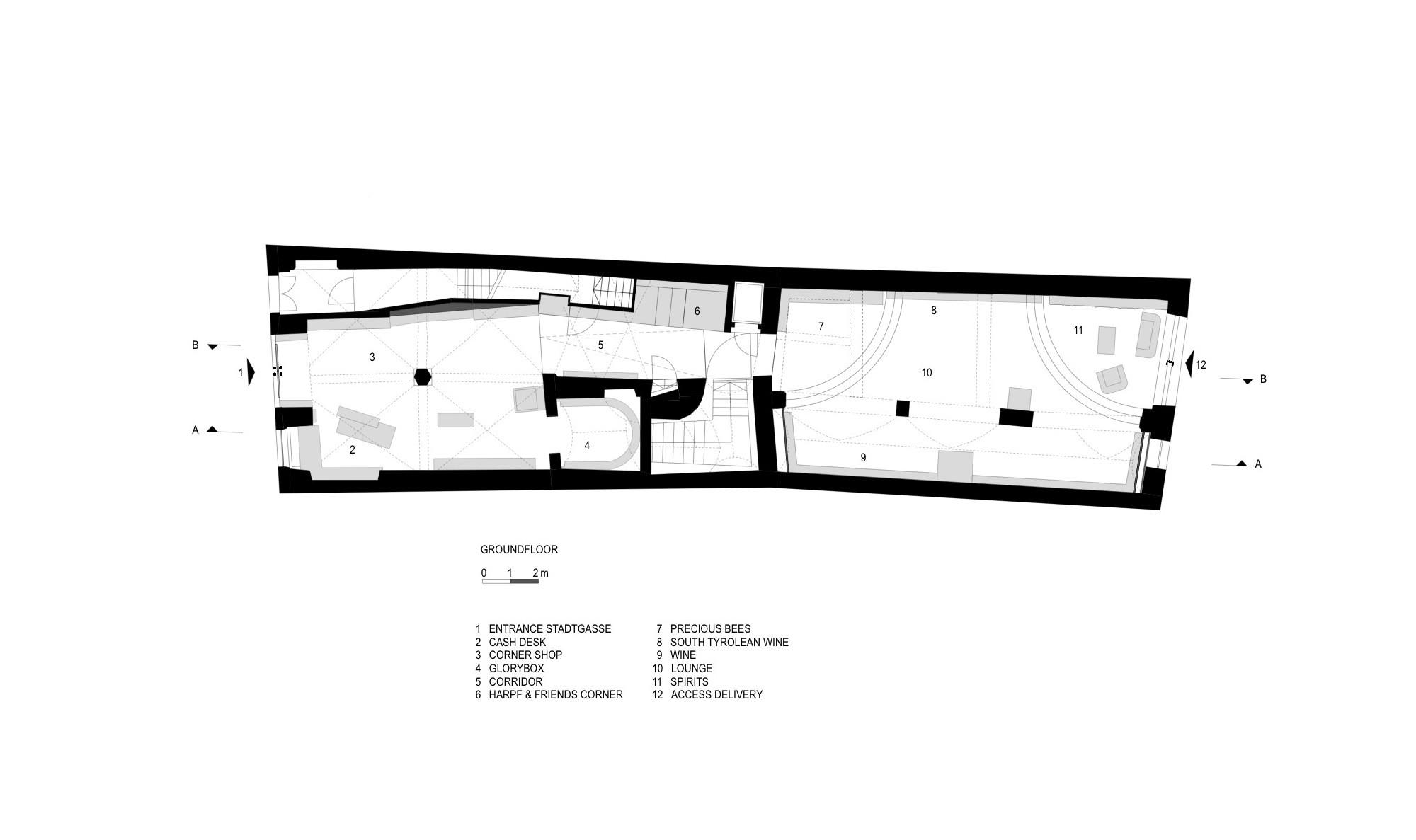 gallery of drink shop harpf monovolume architecture design 22