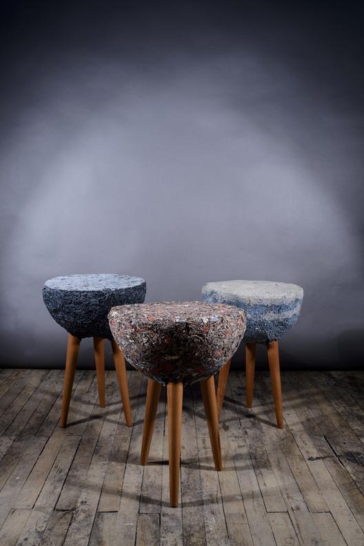 Demodé: muebles de material textil / Bernardita Marambio Design Studio, © Cristóbal Marambio