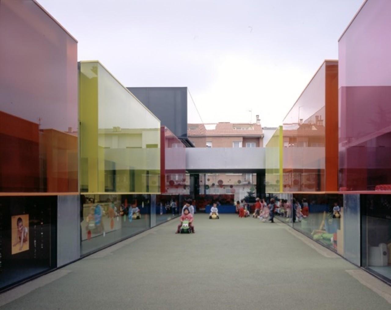 Els Colors Kindergarten Rcr Arquitectes Archdaily