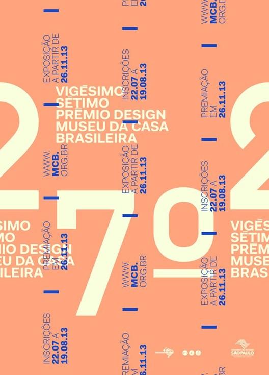 Inscrições abertas para o 27º Prêmio Design MCB, Cortesia de mcb.org.br