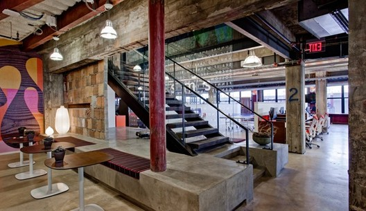 Why Bankruptcy May Be the Best Thing for Detroit, M@dison Building, a tech hub in Detroit. Image via Inc.com