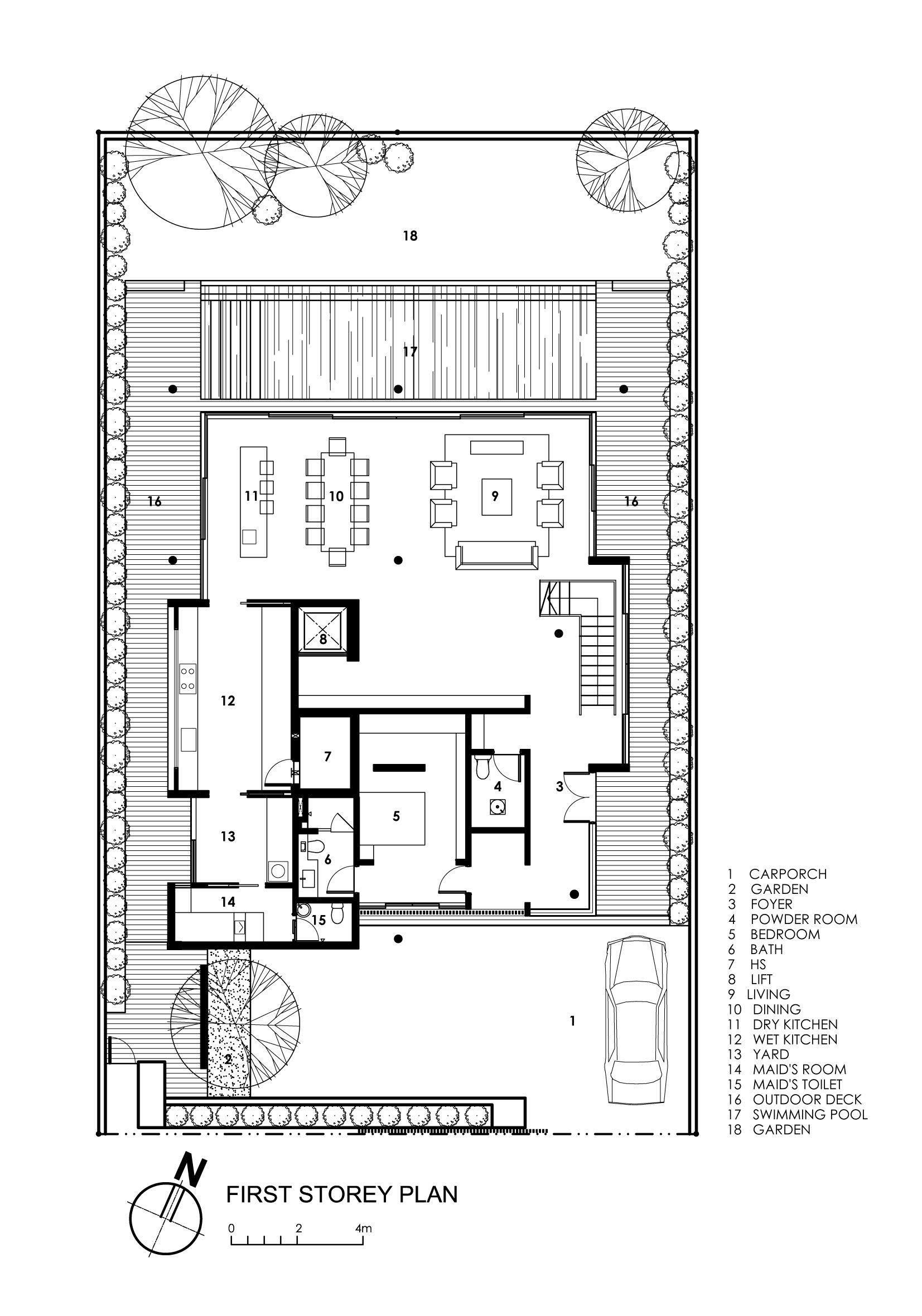 Japanese Garden Design Layout Plan