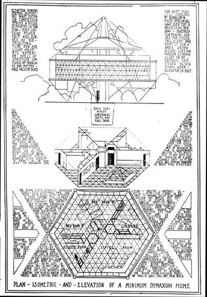 Ad classics the dymaxion house buckminster fuller for Dymaxion house plans