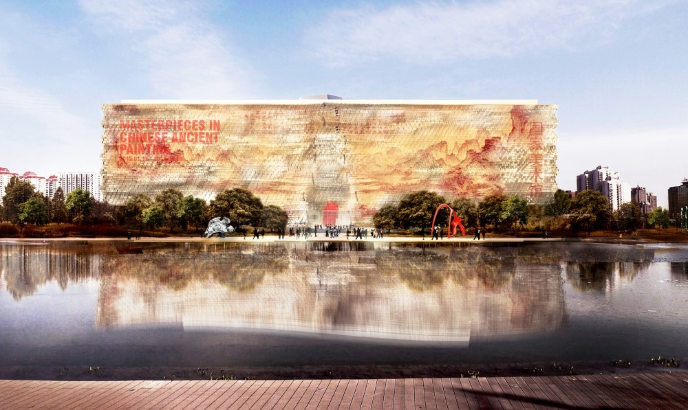 Jean Nouvel Named as Winner of National Art Museum of China Competition