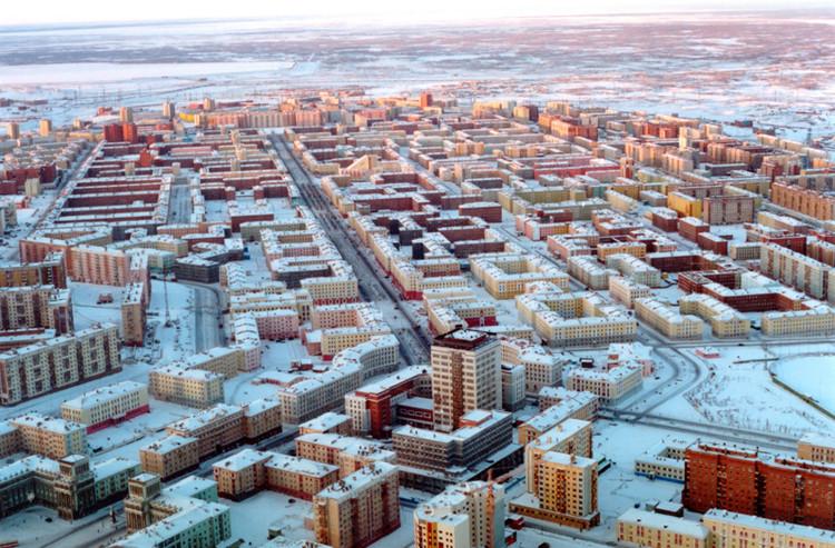 Uma cidade chamada Norilsk, Cortesia de basementgeographer.com