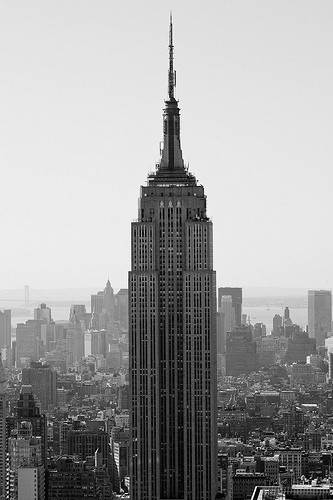 The Empire State Building - the greatest symbol from the era of New York City's rise