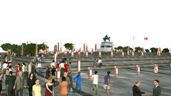 Primeiro Lugar no Concurso para a Praça e Eixo Turístico Cultural do Centro Histórico de Huamanga / Peru