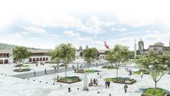 Menção Concurso Plaza Mayor e Eixo Turístico Cultural Centro Histórico De Huamanga