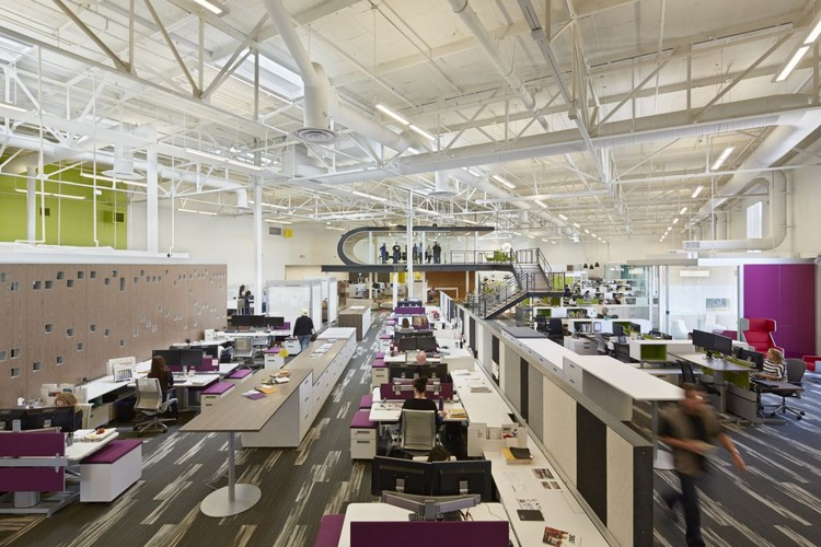 One Workplace Design Blitz Archdaily