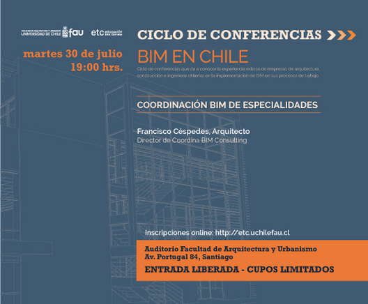 Charla: Coordinación BIM de especialidades
