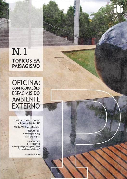 """Encerram hoje as inscrições para a oficina """"Tópicos em Paisagismo"""""""