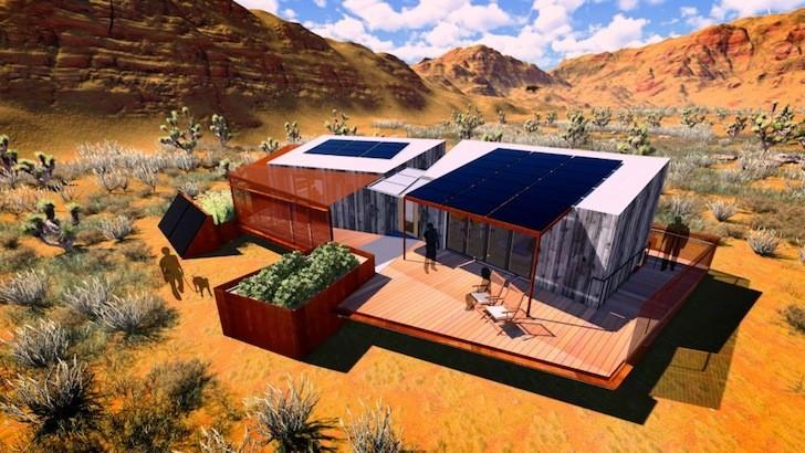 Solar Decathlon 2013: Equipo de Las Vegas presenta DesertSol, una base solar eficiente para el desierto, © DesertSol / Equipo Las Vegas