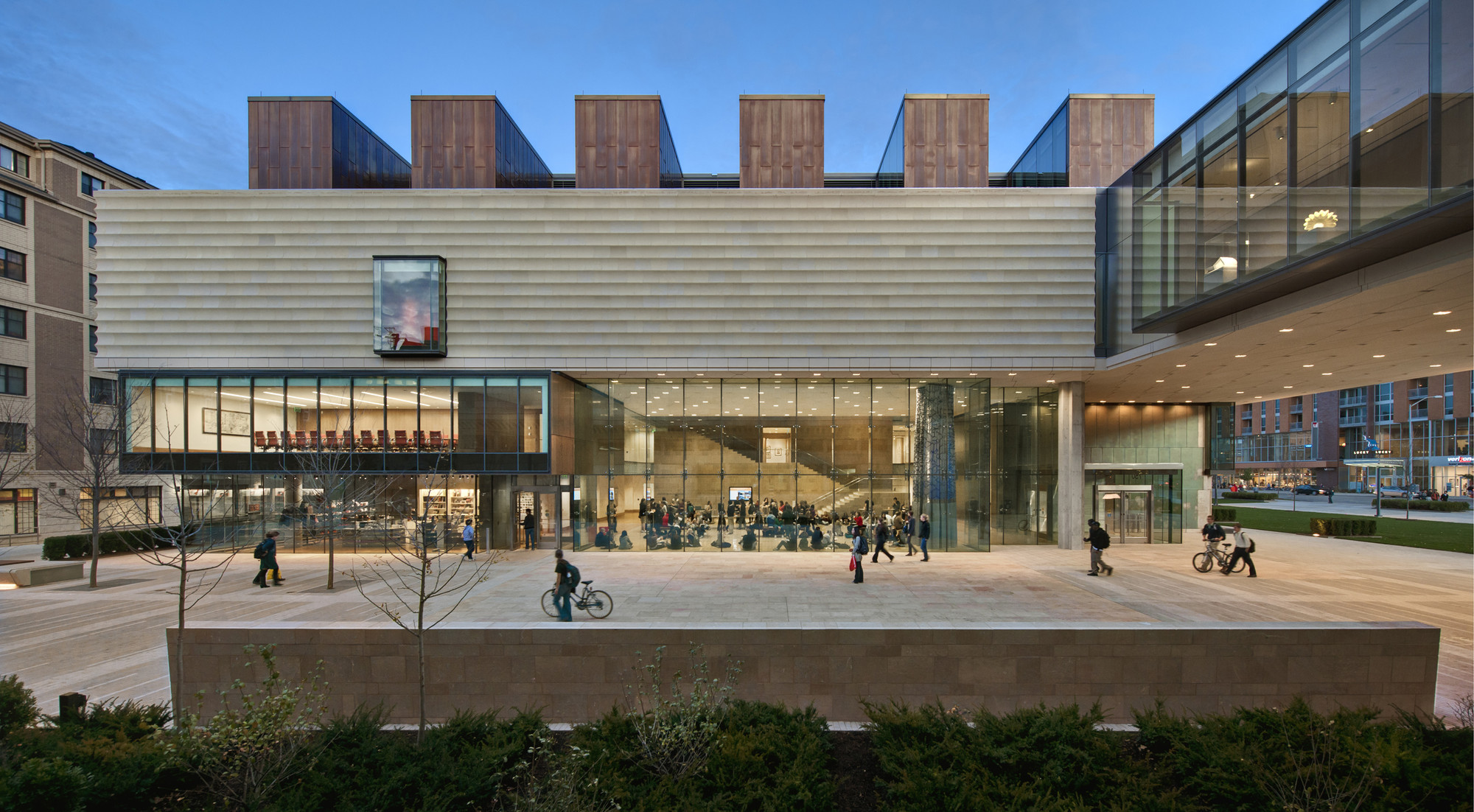 Museo de Arte The Chazen / Machado and Silvetti Associates