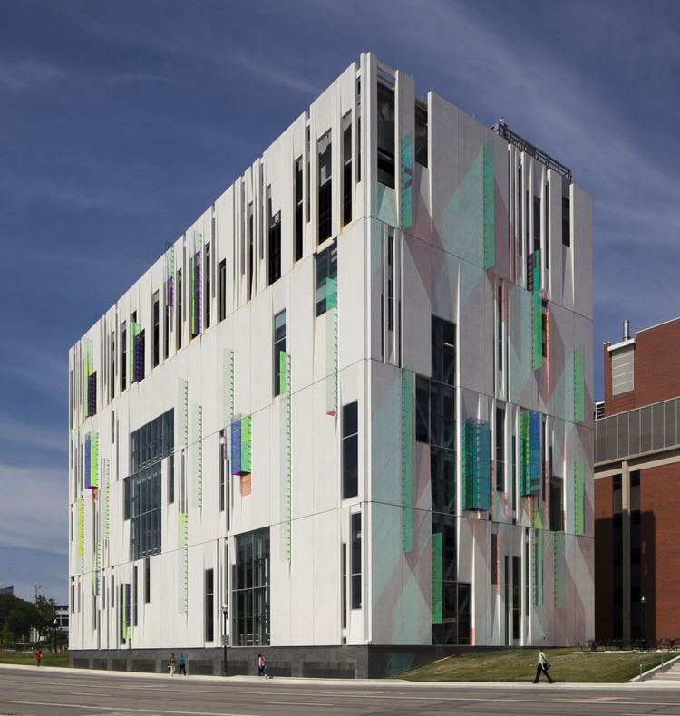 South Campus Chiller Plant At OSU Ross Barney Architects ArchDaily - Ohio state architecture