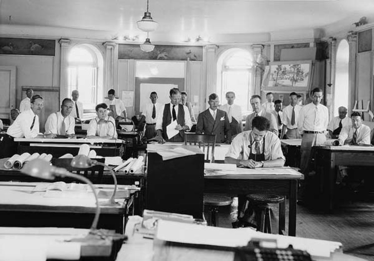 Precisamos de menos arquitetos?, Cortesia de Wikipedia/Biblioteca do Congresso