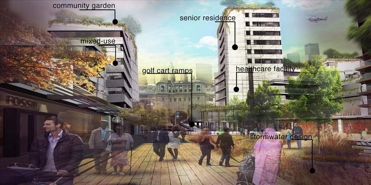 Cidade Idosa: o novo paradigma, Cortesia de Neil Chambers