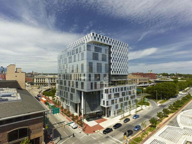 University Of Baltimore Law >> John And Frances Angelos Law Center Behnisch Architekten