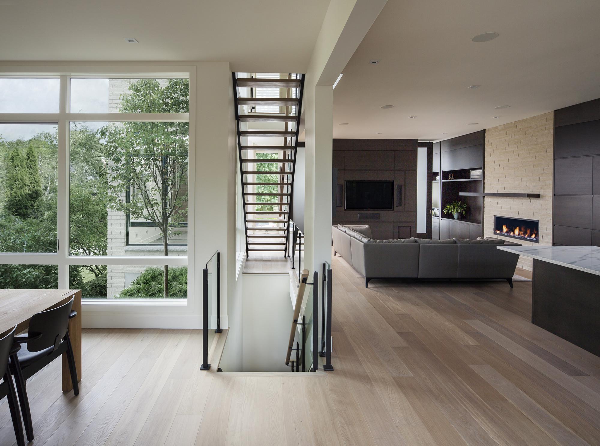 Gallery of westboro home kariouk associates 12 for Modernes haus von innen