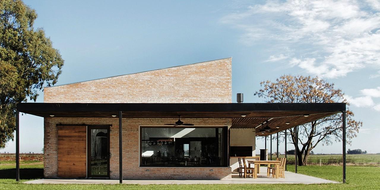 Galer a de casa cl bam arquitectura 2 for Viviendas de campo modernas