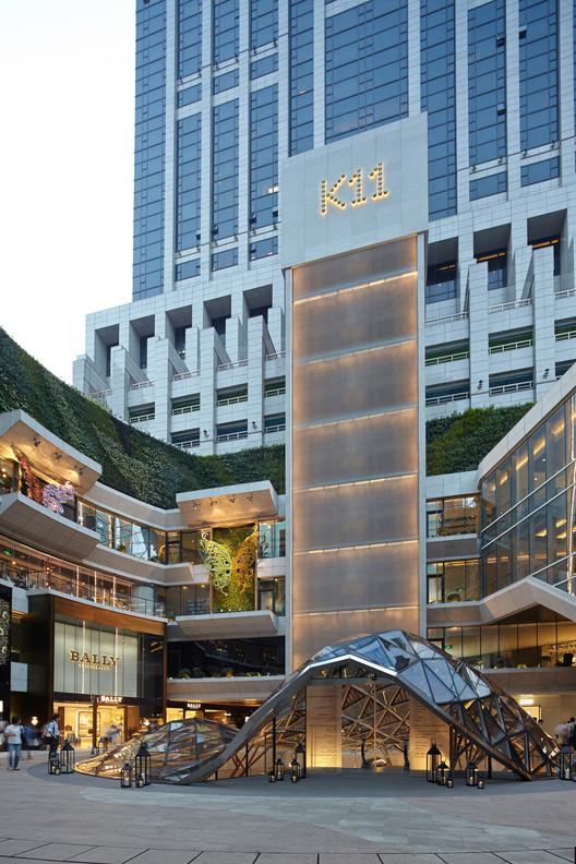 K11 Art Mall Shanghai / Kokaistudios, © Charlie Xia