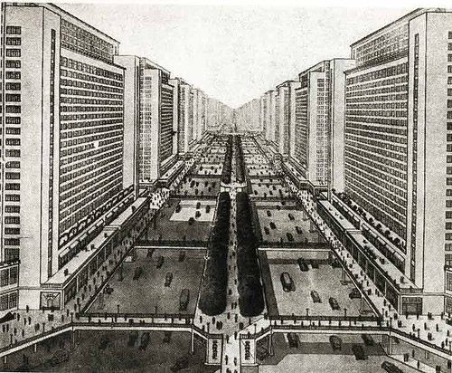 Clássicos da Arquitetura: Ville Radieuse,via iamyouasheisme.wordpress.com