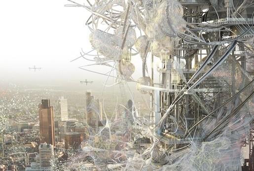 © Chang-Yeob Lee The Synth[e]tech[e]cology Tower. Courtesy Chang-Yeob Lee
