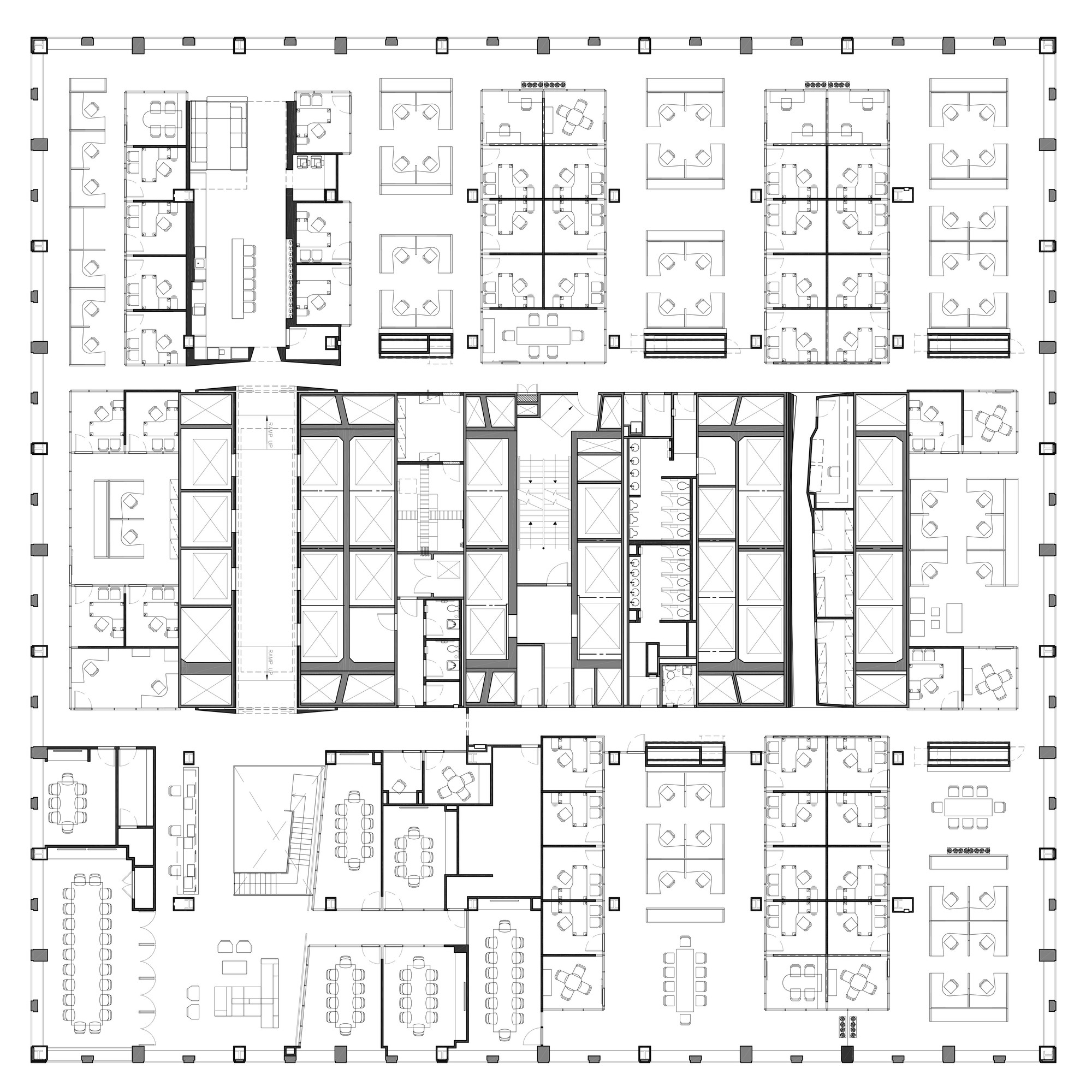 Beautiful Company Floor Plan Part - 9: Midtown Financial Company / A + I Architecture. 14 / 14. Ninth Floor Plan