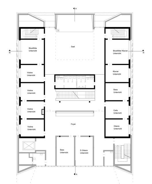 Public Music School Wulf Architekten Archdaily
