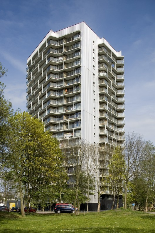Transformation K-flats Bijlmer / Bastiaan Jongerius Architecten, © Luuk Kramer