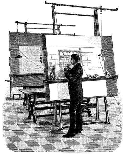 4 de Agosto, ¡Día del Arquitecto! (Chile), El Arquitecto en 1893, via Wikipedia