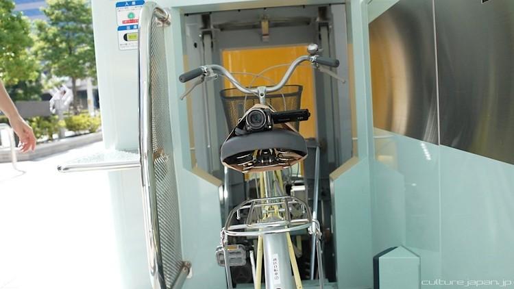 Sistema de estacionamento subterrâneo para bicicletas, Cortesia de hypeness