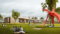 Litterfall Social and Cultural Center Competition Entry / Ziya Imren Architects
