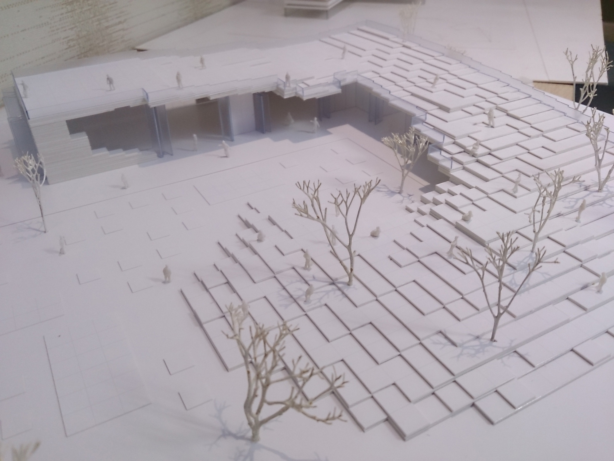Gallery of Litterfall Social and Cultural Center Competition Entry / Ziya Imren Architects  - 5