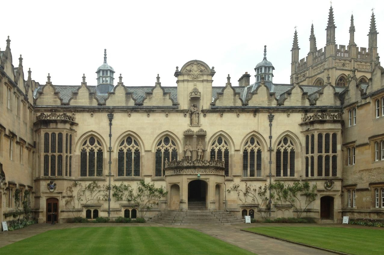 Oriel College Design Competition Shortlist Announced, Front Quad Elevation / © MRC 300 dpi 30cm x 20cm