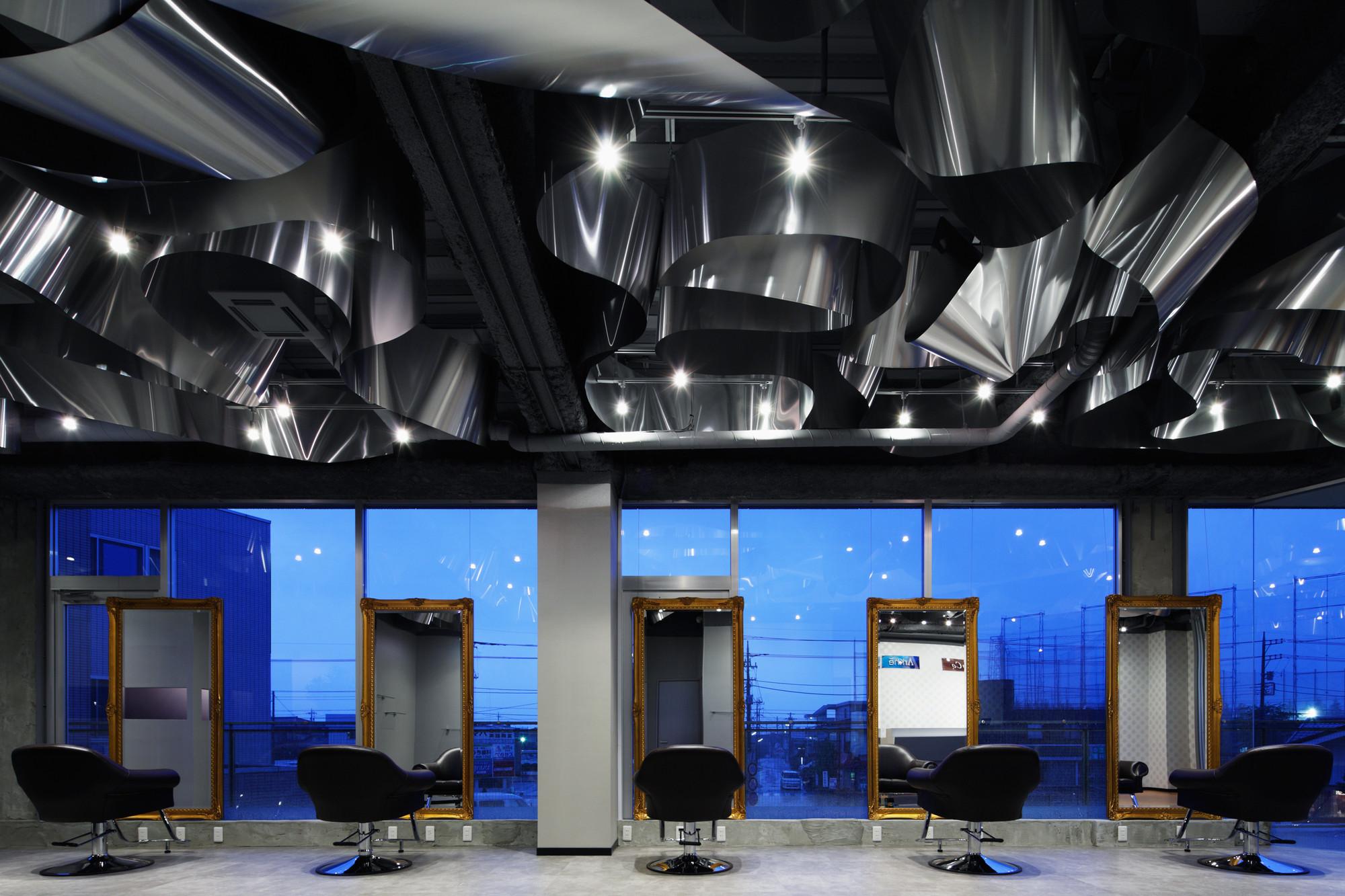 Arkhe Beauty Salon Moriyuki Ochiai Architects Archdaily