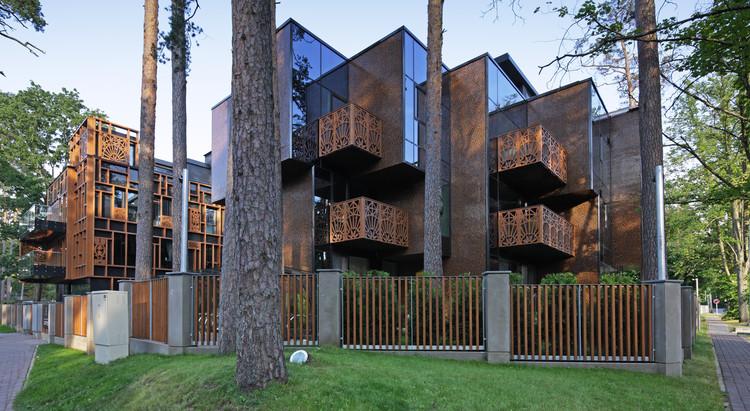 Edifício Dzintaru 32 / SZK/Z Architects, © Martin Kudryavcev