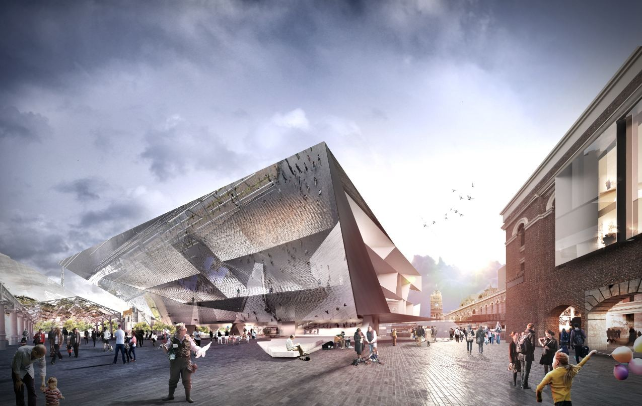 The Flinders Street Station Shortlisted Proposal / Grimshaw + John Wardle Architects, Courtesy of Grimshaw + John Wardle Architects
