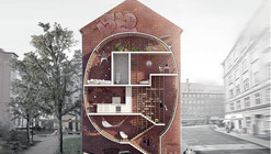 'Live Between Buildings!': New Vision of Loft 2 Competition Entry / Mateusz Mastalski + Ole Robin Storjohann