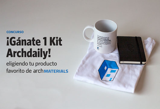 ¡Gánate 1 Kit Archdaily eligiendo tu producto favorito de ArchMaterials!