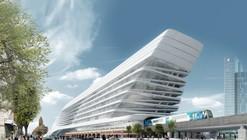 Proposta finalista para a Estação Flinders Street / Zaha Hadid Architects + BVN Architecture