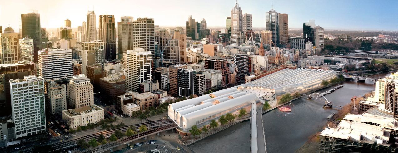 The Flinders Street Station Winning Proposal / HASSELL + Herzog & de Meuron, Courtesy of HASSELL + Herzog & de Meuron