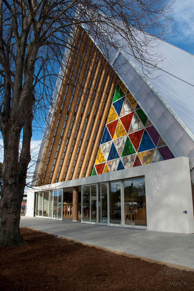 Gallery of Newly Released Photos of Shigeru Ban's Cardboard Cathedral in New Zealand  - 16