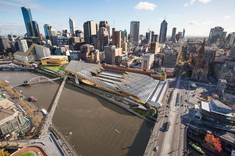 Proposta Finalista  para  a Estação Flinders Street / NH Architecture, Cortesia de NH Architecture