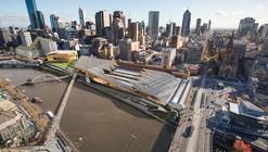 Proposta Finalista  para  a Estação Flinders Street / NH Architecture