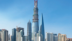 Gensler Tops Out on World's Second Tallest Skyscraper: Shanghai Tower