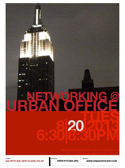 Networking @ Urban Office, Courtesy of nycobaNOMA