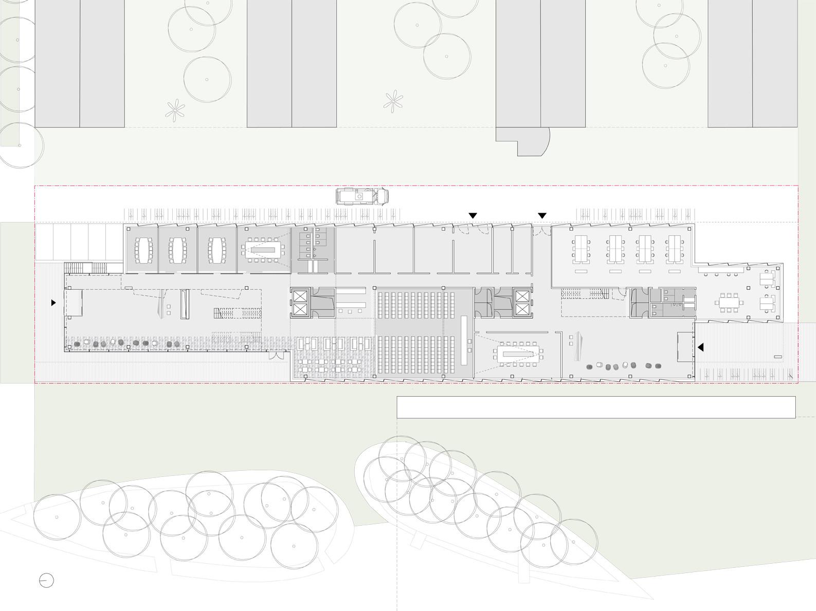 Gallery Of Glazed Software Factory Winning Proposal Henn 7