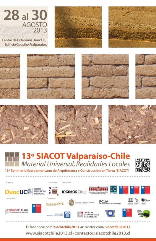 13° SIACOT Valparaíso 2013: Programa Preliminar Semana de la Tierra