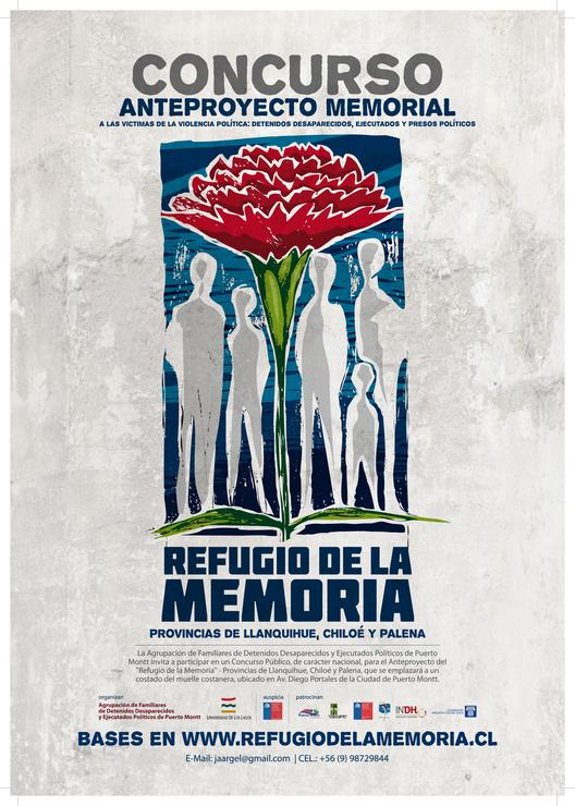 """Convocatoria Concurso """"Refugio de la memoria"""" / Puerto Montt, Chile, Courtesy of la organización"""